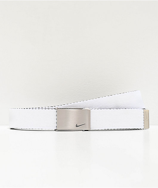 Nike Black & White Reversible Web Belt
