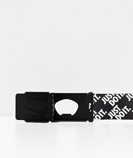 Nike Just Do It Stacked Web Belt