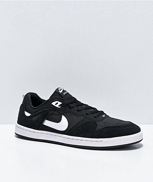 Nike SB Alleyoop zapatos negros y blancos