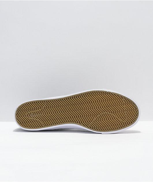 Nike SB Blazer Court Black & White Skate Shoes