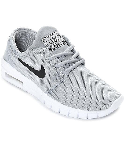 Nike SB Boys Janoski Air Max Wolf Grey
