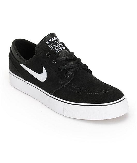 Nike SB Boys Janoski Black \u0026 White