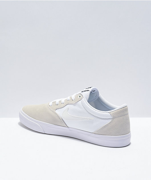 Nike SB Chron White Skate Shoes