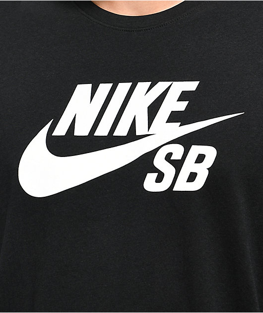 Nike SB Dri-Fit Logo Black T-Shirt