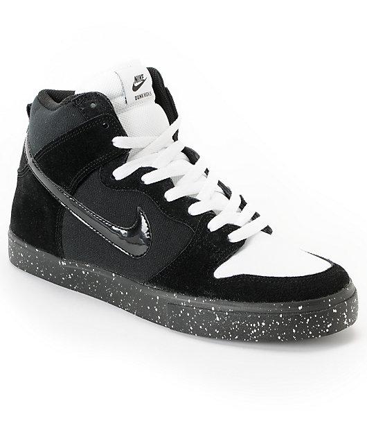 Nike SB Dunk High LR Black, White