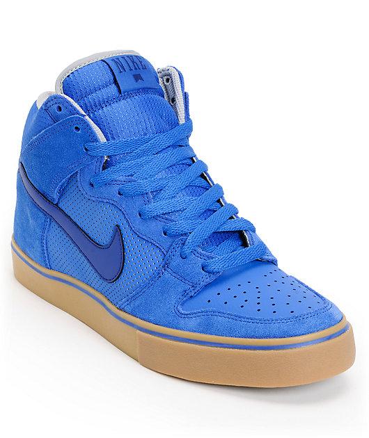 Nike SB Dunk High LR Royal \u0026 Blue Skate