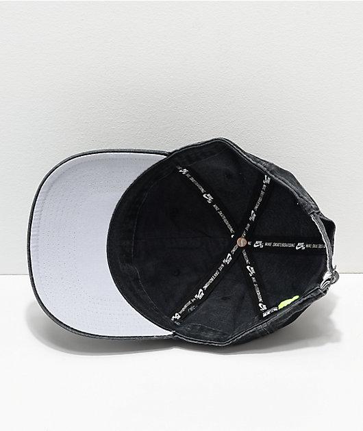 Nike SB H89 Icon Black Strapback Hat