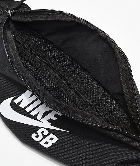 Nike SB Heritage riñonera negra