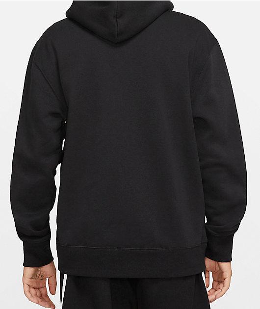 Nike SB Icon Essential Black Hoodie