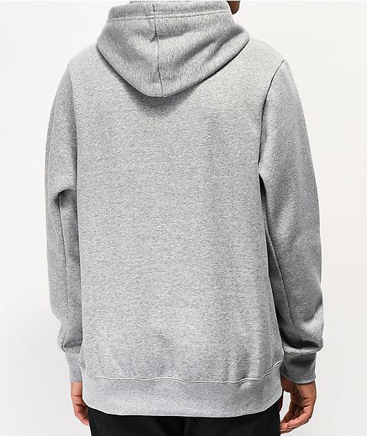Nike SB Icon Grey \u0026 Black Hoodie