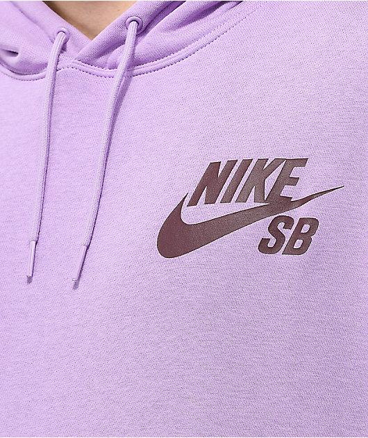 Nike SB Icon Violet Hoodie