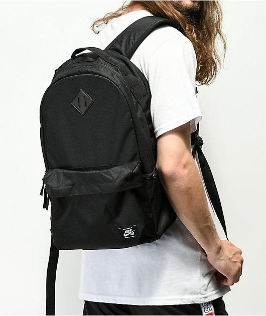 Nike SB Icon mochila negra