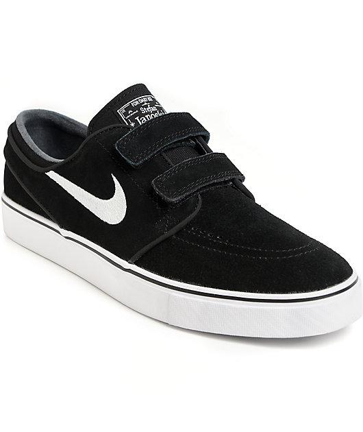 Nike SB Janoski AC Black \u0026 White Hook