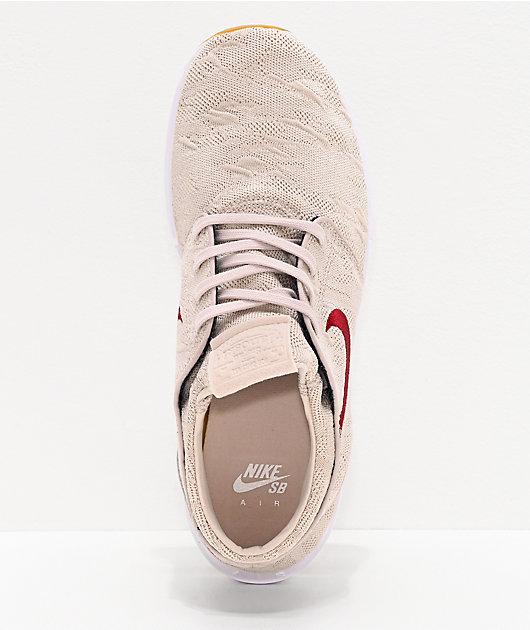 Nike SB Janoski Air Max 2 Desert Sand & Obsidian zapatos de skate