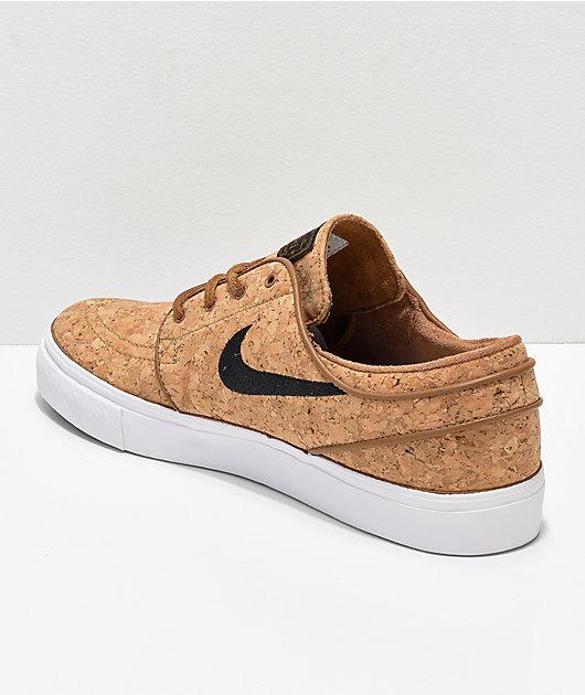 Alcanzar Mala suerte igualdad  Nike SB Janoski Elite Ale Brown zapatos de skate de corcho | Zumiez
