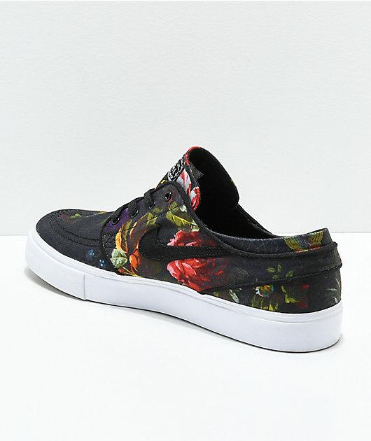 Nike SB Janoski Floral Canvas Shoes