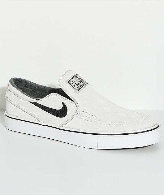 Nike SB Janoski Light Bone \u0026 White Slip
