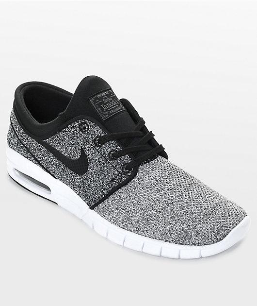 Nike SB Janoski Max White, Black \u0026 Dark
