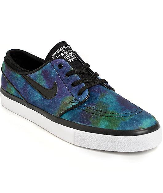 Ardiente Intervenir Fatídico  Nike SB Janoski Nebula Skate Shoes | Zumiez