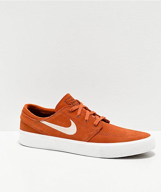 Nike SB Janoski RM Dark Russet & Desert Sand zapatos de skate