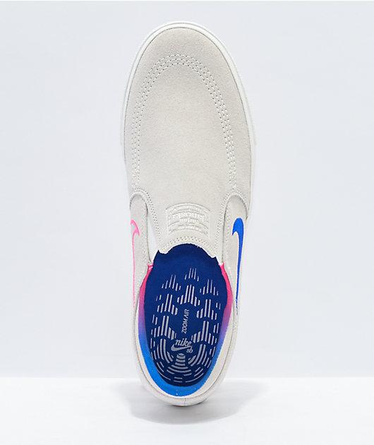 Nike SB Janoski RM Slip-On Suede Skate Shoes