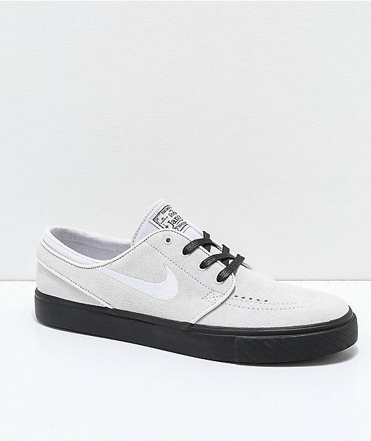 Nike SB Janoski Vast Grey \u0026 Black Suede