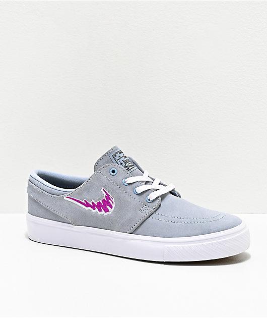 Nike SB Janoski zapatos en azul claro y morado