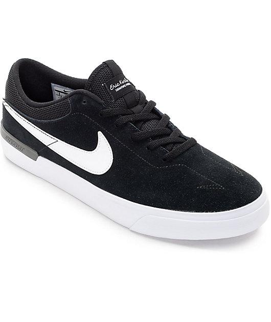 Nike SB Koston Hypervulc Black & White Skate Shoes