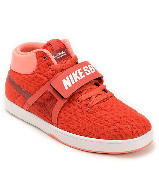 Nike SB Koston Mid RR Red Skate Shoes
