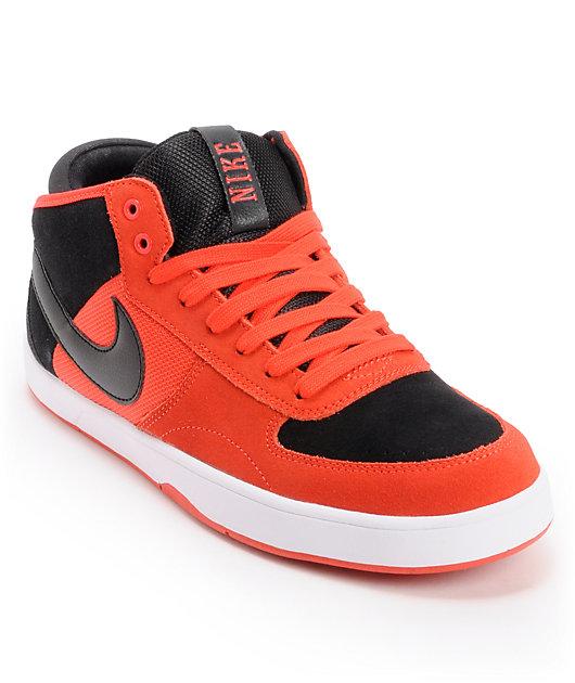 Profesión Testificar profesional  Nike SB Mavrk Mid 3 Pimento & Black Skate Shoes | Zumiez