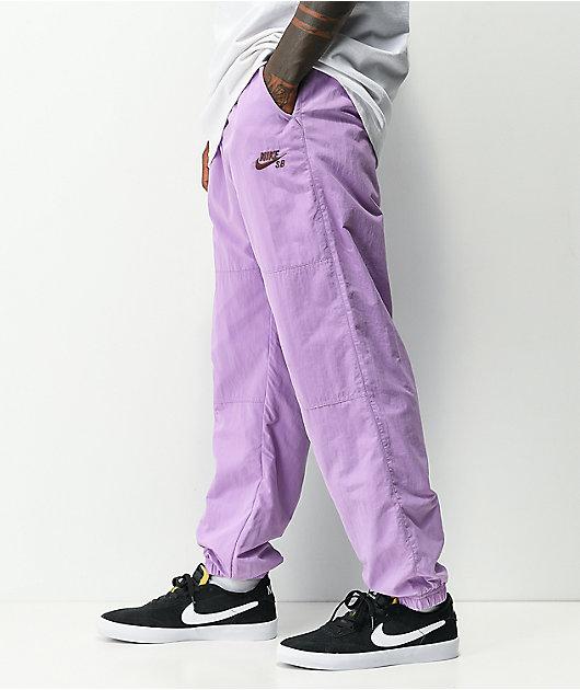 Nike SB Novelty Violet Track Pants