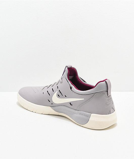 Nike SB Nyjah Free Atmosphere Grey \u0026