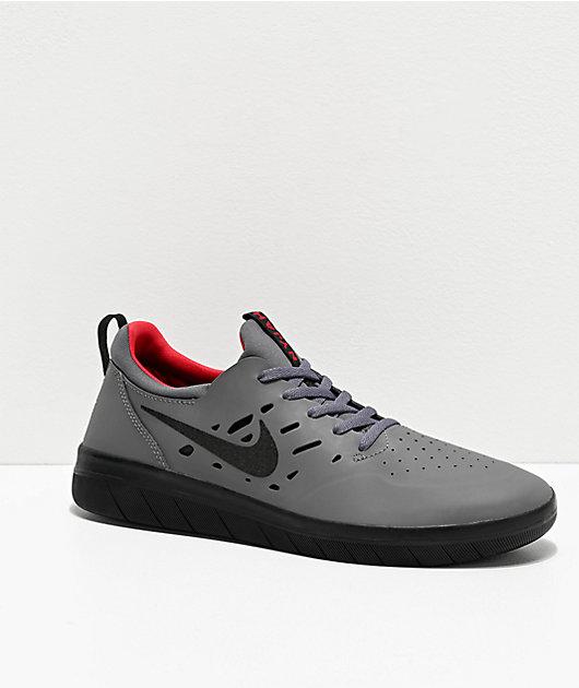Nike SB Nyjah Free Dark Grey, Black