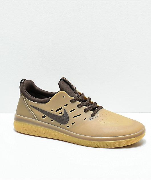 Nike SB Nyjah Free Gum \u0026 Dark Brown