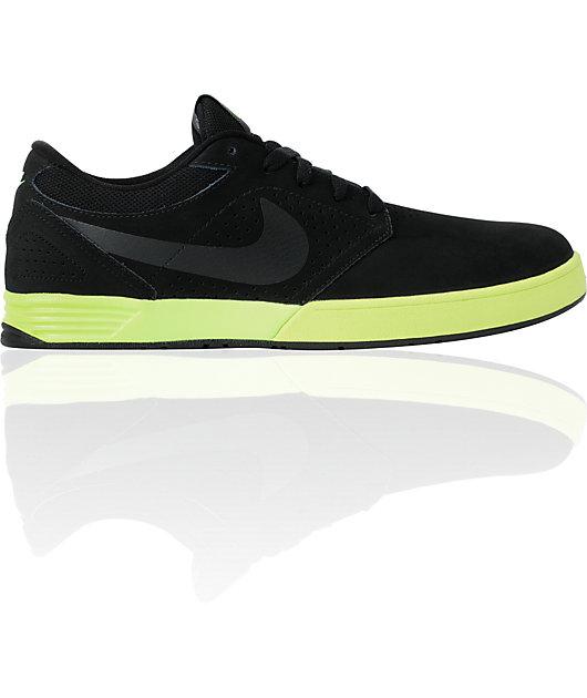 Nike SB P-Rod 5 Lunarlon Black \u0026 Volt