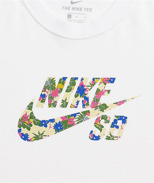 Nike SB Paradise Fill White T-Shirt