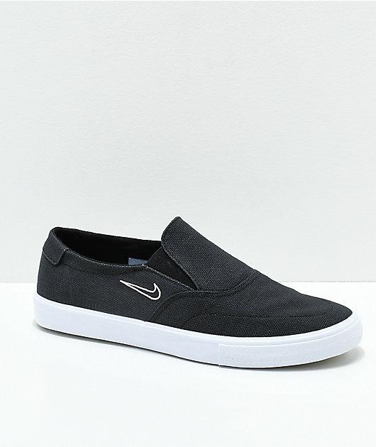 Nike SB Portmore II Black \u0026 White