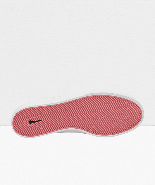Nike SB Shane Summit White & Pink Skate Shoes