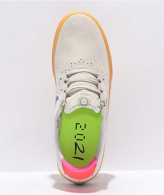 Nike SB Shane Tokyo Rawdacious White & Gum Skate Shoes
