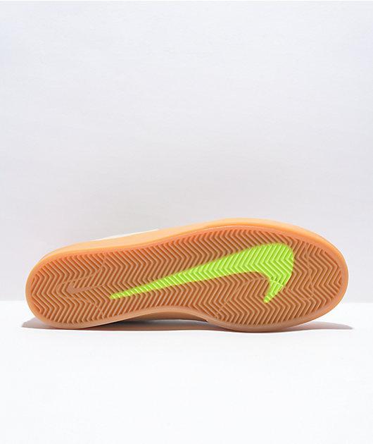 Nike SB Shane Toyko Rawdacious White & Gum Skate Shoes