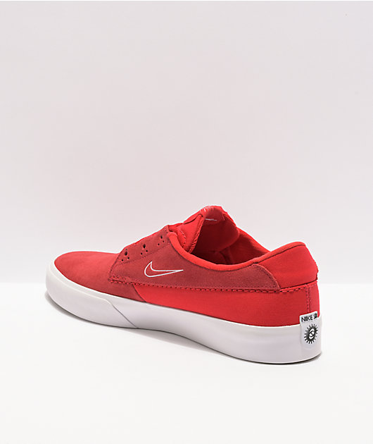 Nike SB Shane University Red & White Skate Shoes