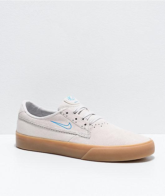 Nike SB Shane White, Lazer Blue & Gum Skate Shoes