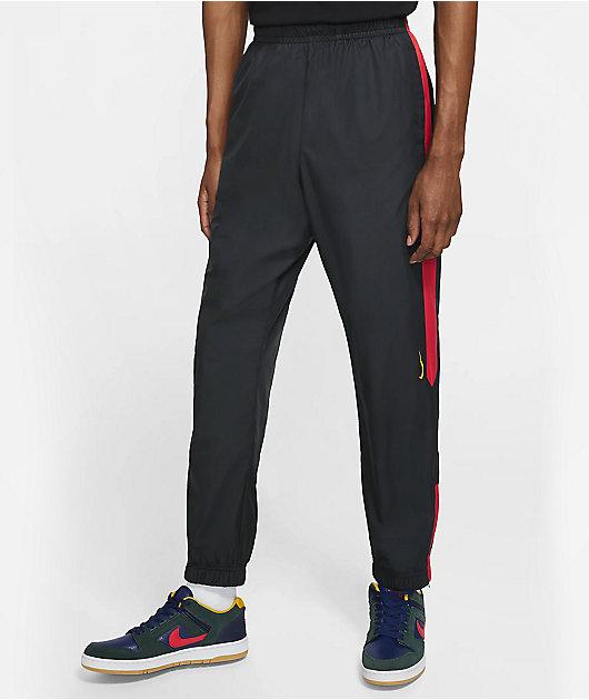 Nike SB Shield Black, University Red & Gold Track Pants