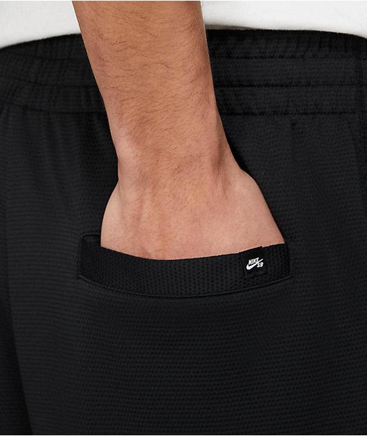 Nike SB Sunday Black Sweat Shorts