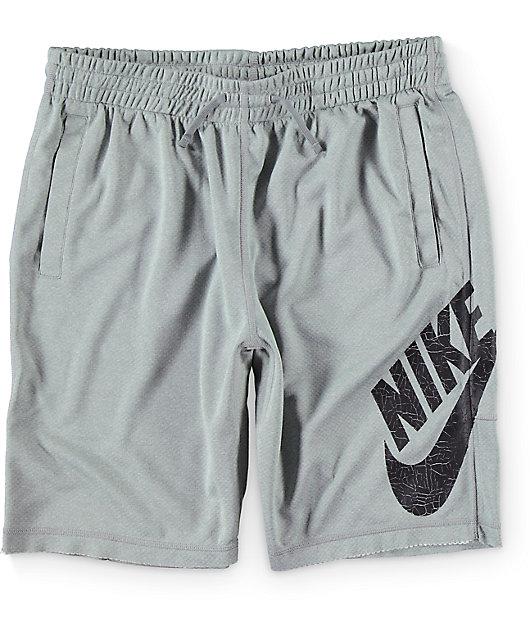 Nike SB Sunday Heather Grey Shorts | Zumiez