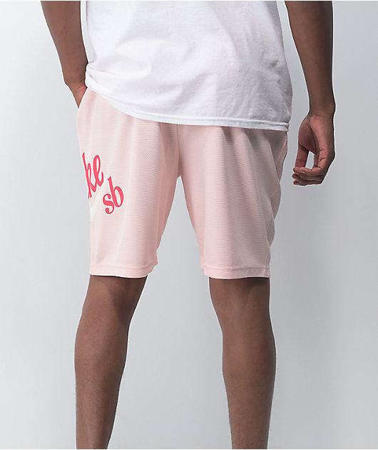 Nike SB Sunday Orange Pearl Basketball Shorts