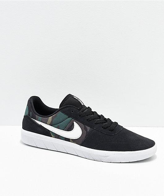 Nike SB Team Classic Camo, Black