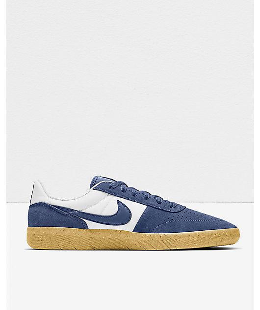 Nike SB Team Classic Navy, White & Gum Skate Shoes