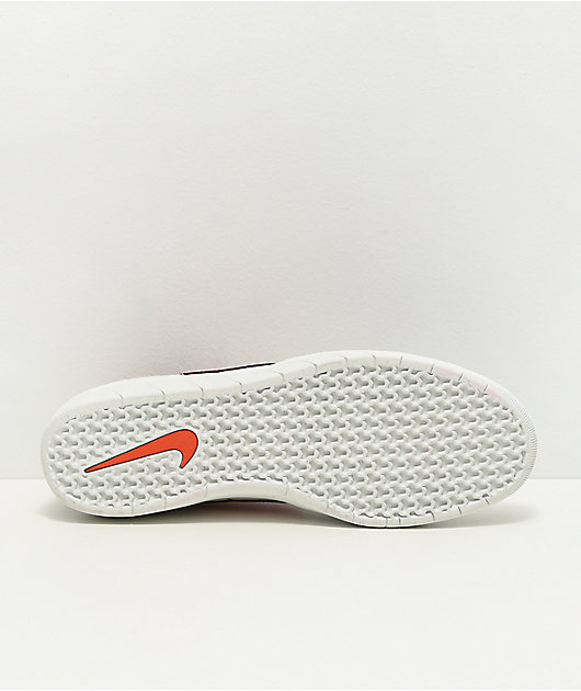 Nike SB Team Classic Phantom zapatos de skate grises, rojos y blancos