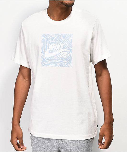 Nike SB Triangle Sail White T-Shirt